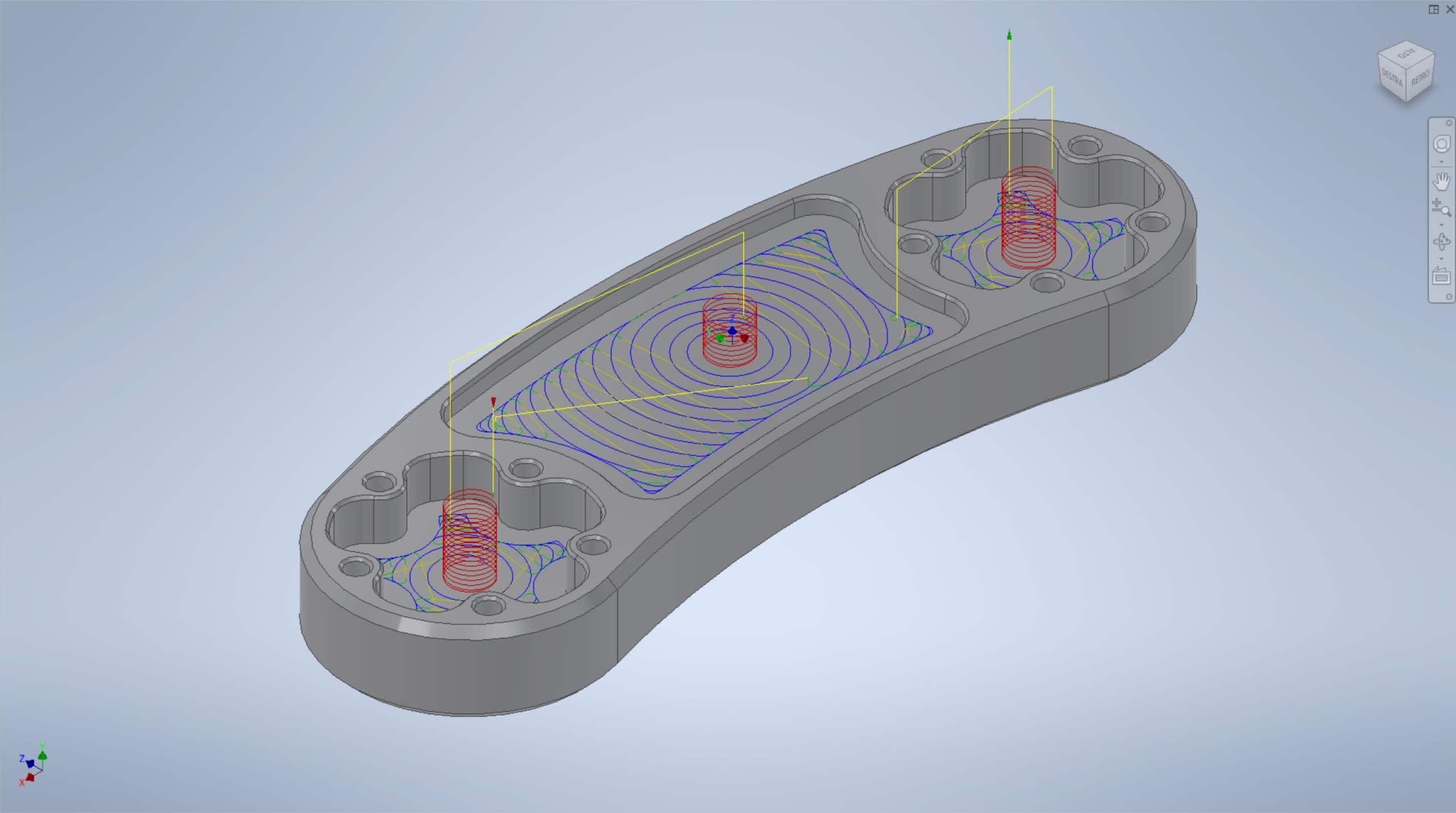 Lavorazione Macchina Utensile CNC e Percorso Utensile