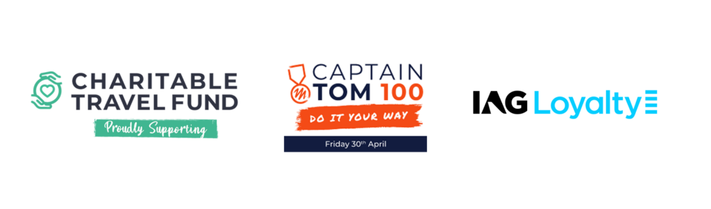 Charitable Travel, Captain Tom 100, IAG Loyalty Avios