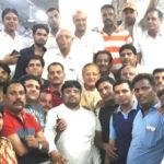 congress workers going to delhi