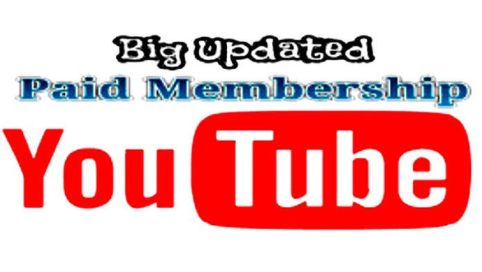you tube Paid Memberships