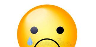 Let's be sad