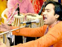 International bhajan singer Sushil Gopal Bajaj sang, maharo halo sunon ni rama pir