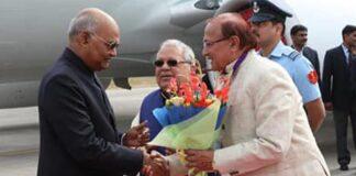 President Kovind reached Udaipur. Dr. B.D. Kalla welcomed-2