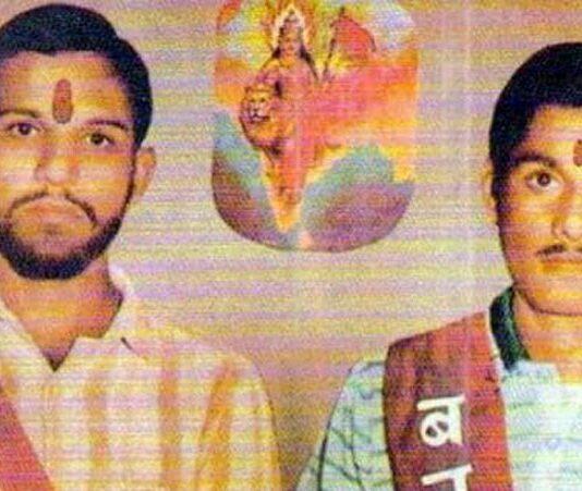 अयोध्या में शहीद हुए कोठारी बंधु राम कोठारी व शरद कोठारी
