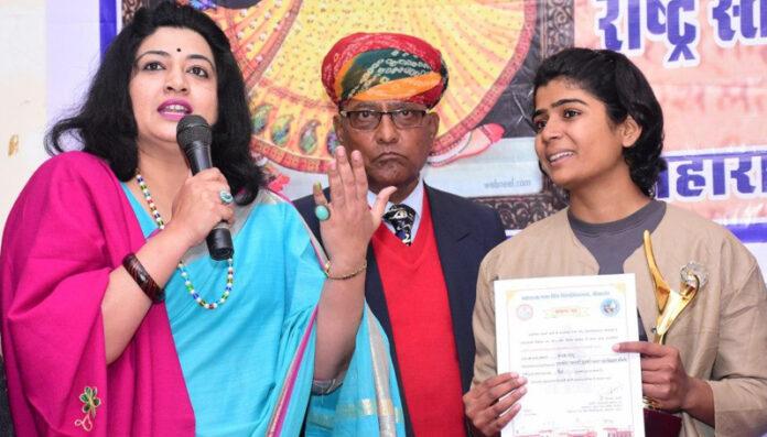Kanak Ratanu, a student of Maharani College Bikaner