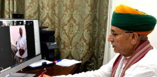 Union Minister Meghwal congratulates on Bikaner Foundation Day
