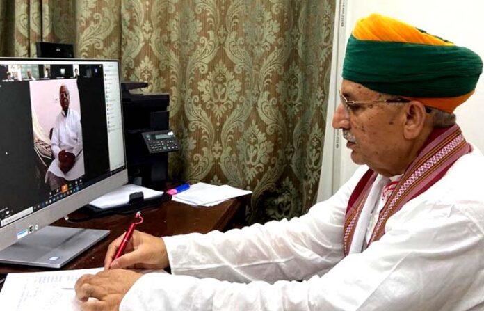 Union Minister Meghwal congratulates on Bikaner Foundation Day