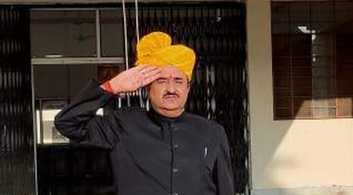 in Government Law College Dr. BR Bishnoi hoisted the tricolor