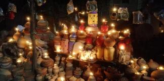 Lalchand Prajapati's Diwali at the Pugal intersection of Bikaner