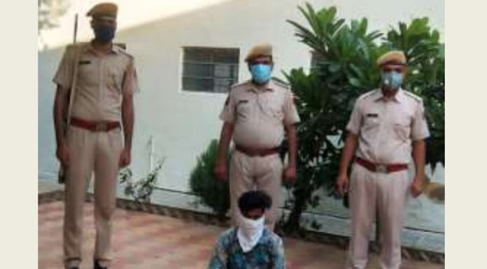 One arrested with country cuttings and cartridges in Lunkaransar
