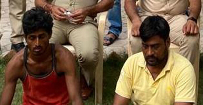 Two men of the Lorense gang arrested, prize money of five lakh crooks run away by dodging the police