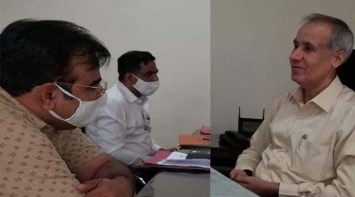 Nokha MLA Bishnoi met the Director General of Police, told the situation of Bikaner