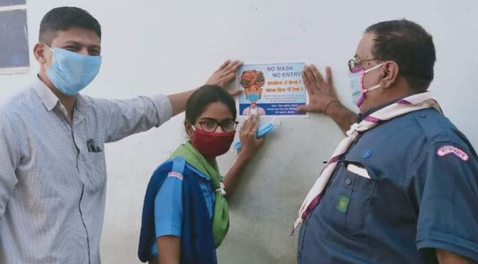 door-to-door appeal to wear masks