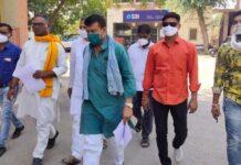 Jan sangharash samiti delegation met IG, warning of agitation