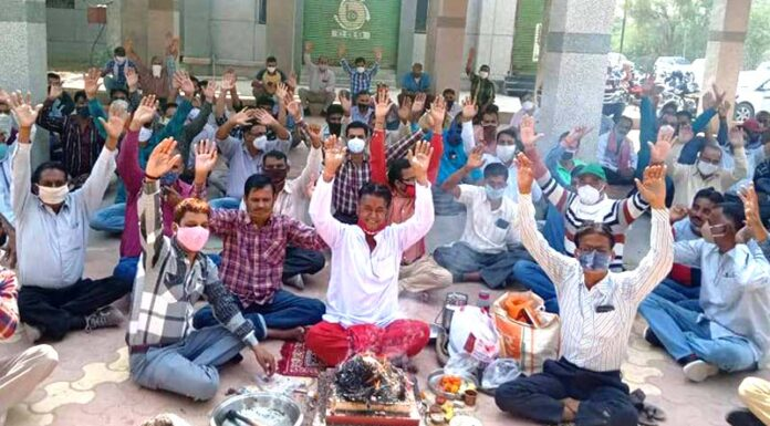 Slogans of Bhati and Kalla Swaha engaged in sadbudhi yagya1