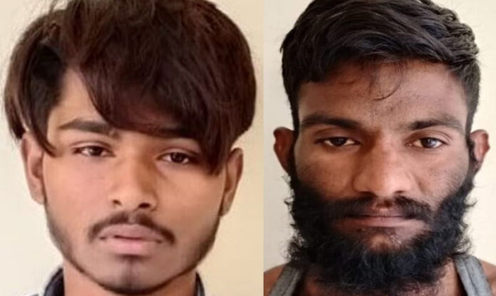 Two miscreants arrested with intent to kill