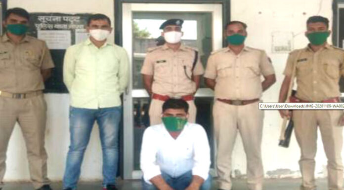 Udasar resident Chetnaram Bishnoi arrested with 2.6 kg of opium