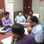 Also send information about empty oxygen cylinders to the officer – collector