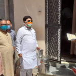 Anil Kalla distributed Ayurvedic decoction from house to house