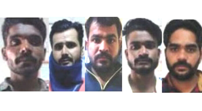 Five prisoners escaped from Nokha jail, search continues