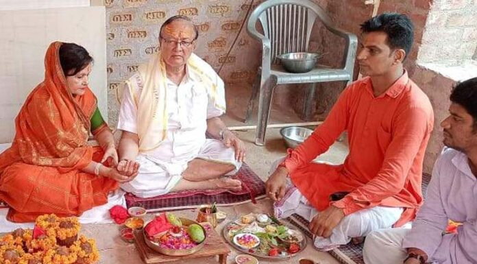 Murti Prana Pratishthan ceremony started in Rangolai Mahadev Temple