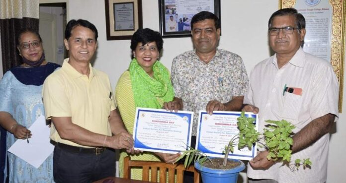 Six academicians honored in Dungar College-1