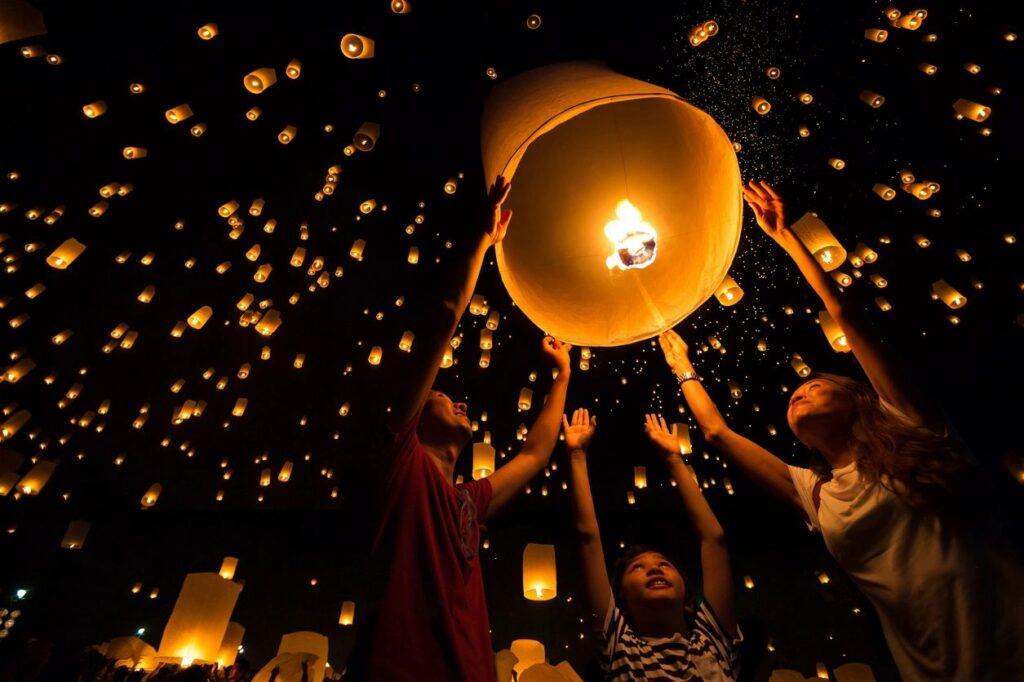 ritual luces de noche