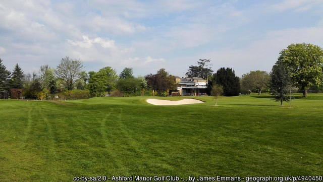 Ashford Manor Golf Course Middlesex