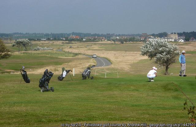 Felixstowe Ferry Golf Course