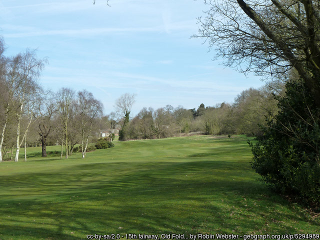 Old Fold Manor Golf Course