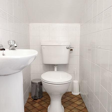 Typical Single Room bathroom