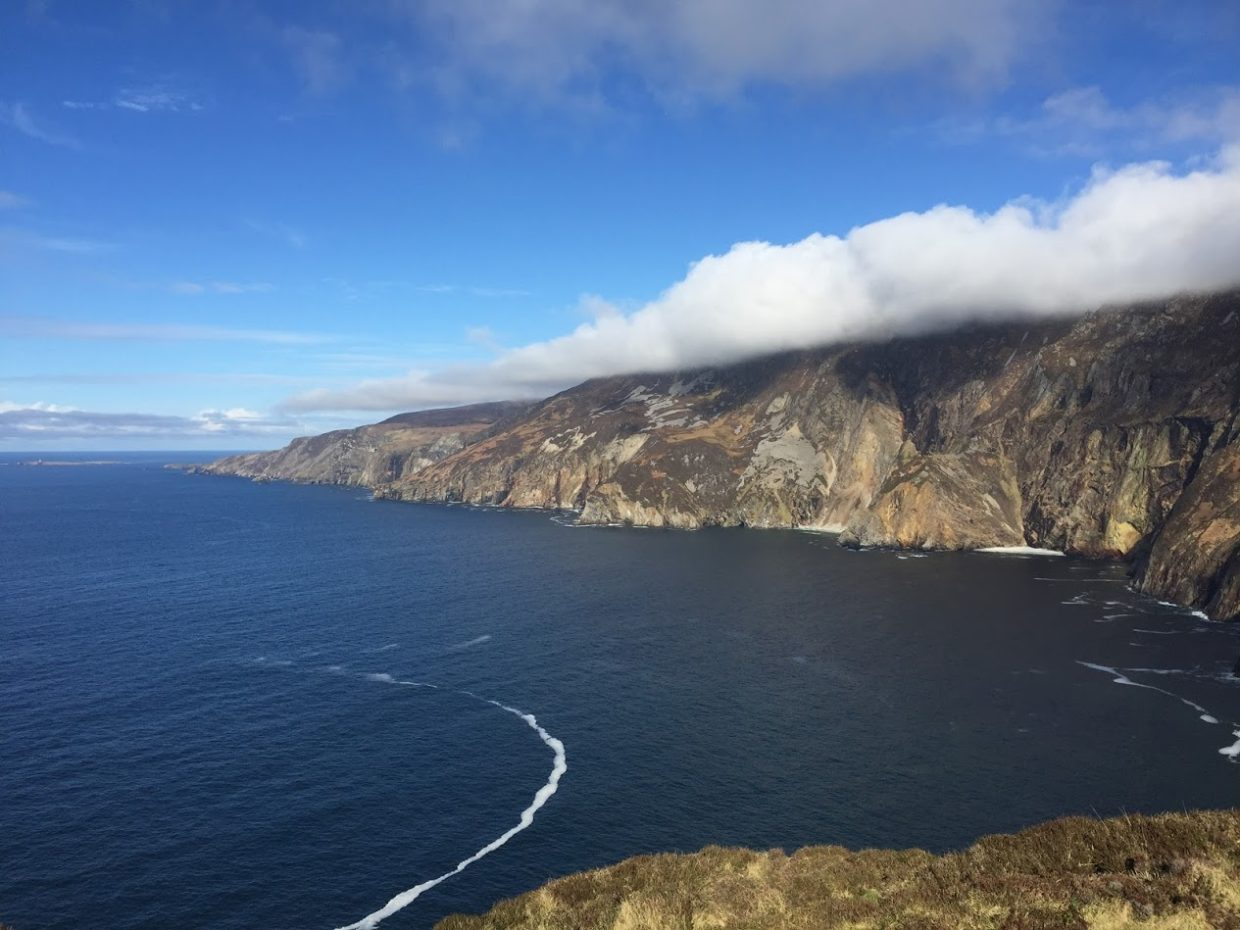 View from Slieve League viewing platform