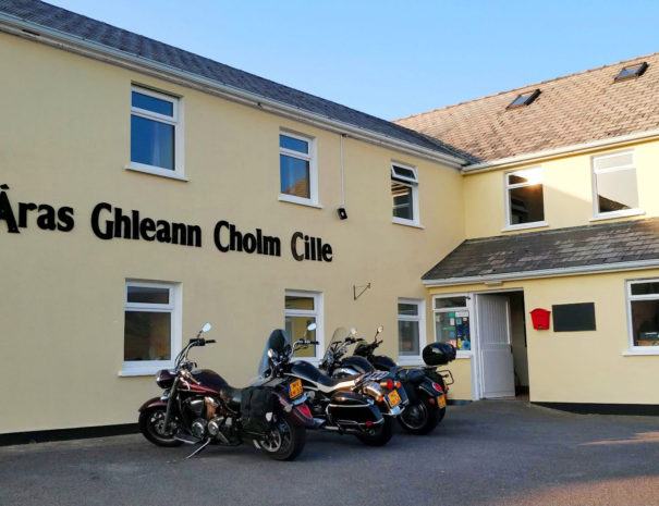Outside view of Aras BnB in Glencolmcille, Donegal, Ireland