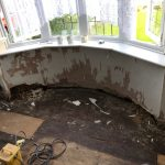 New damp proof course