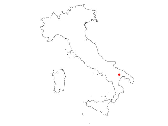 MAP MATERA