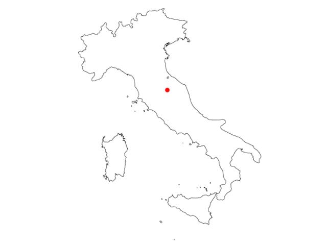MAP GUBBIO