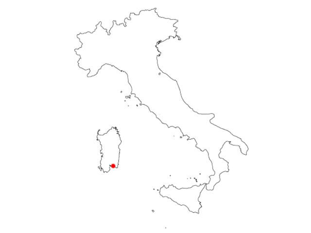 MAP CALA CATERINA