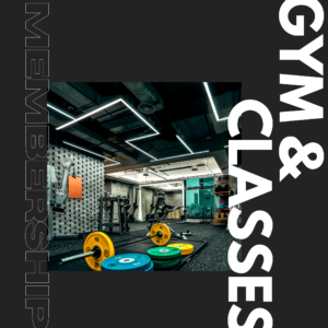 Gym & Classes Membership