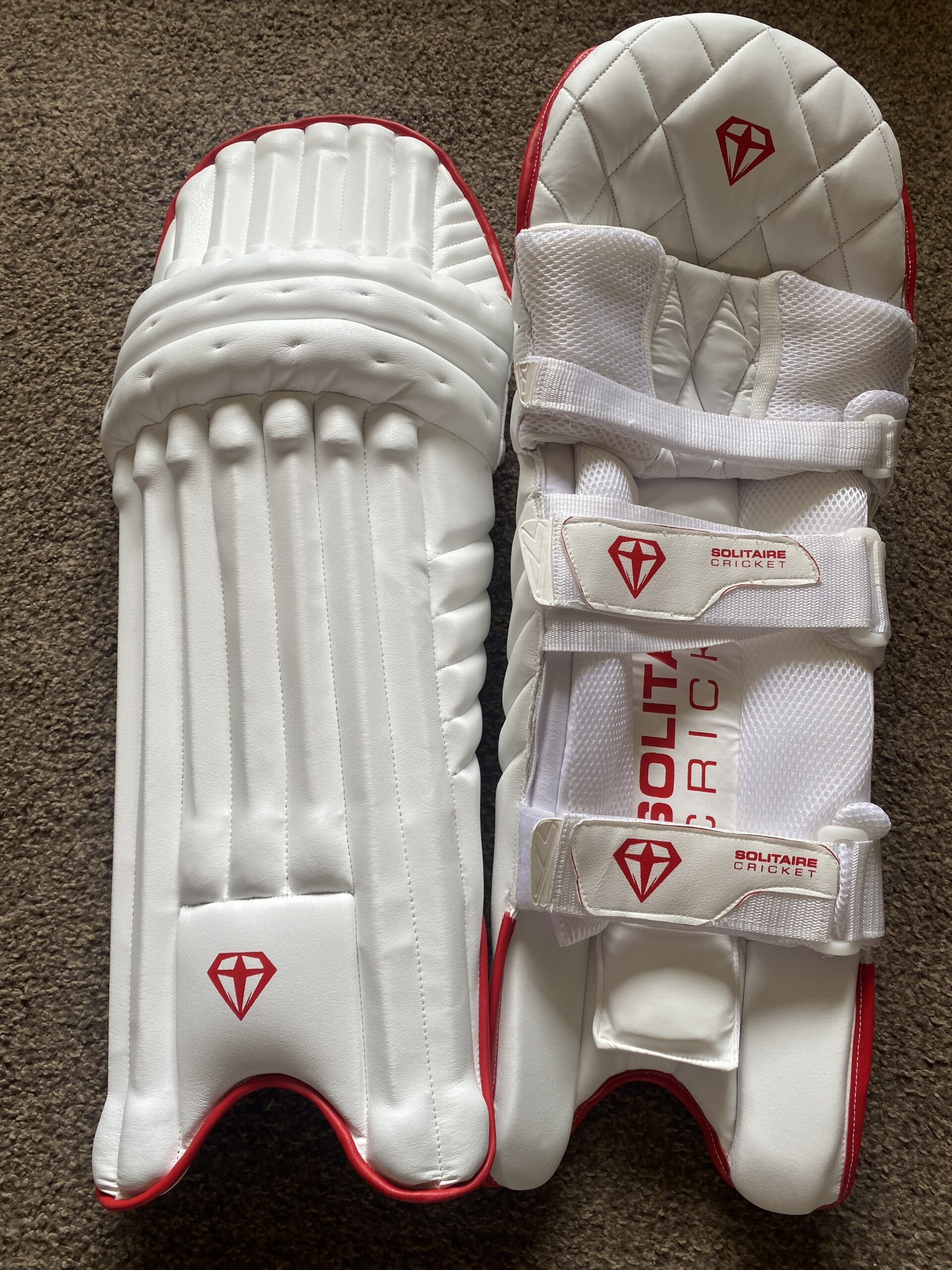 Solitaire Batting Pads