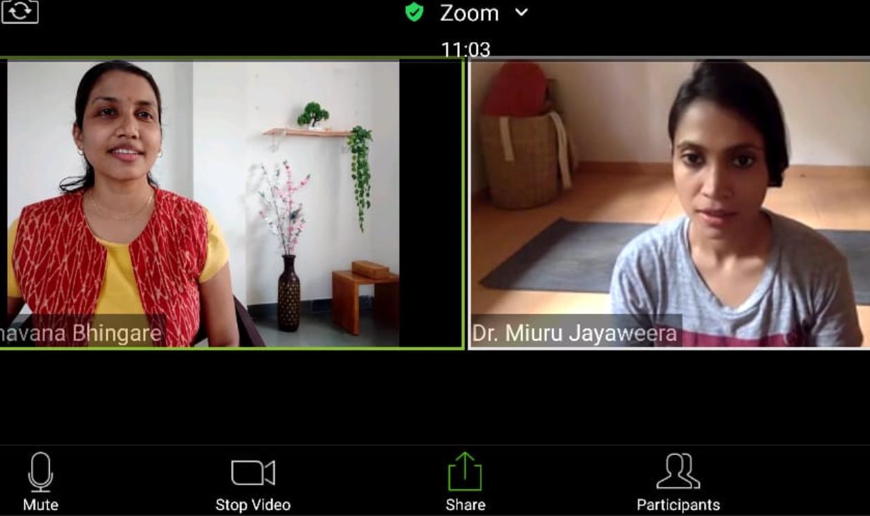 live online yoga courses