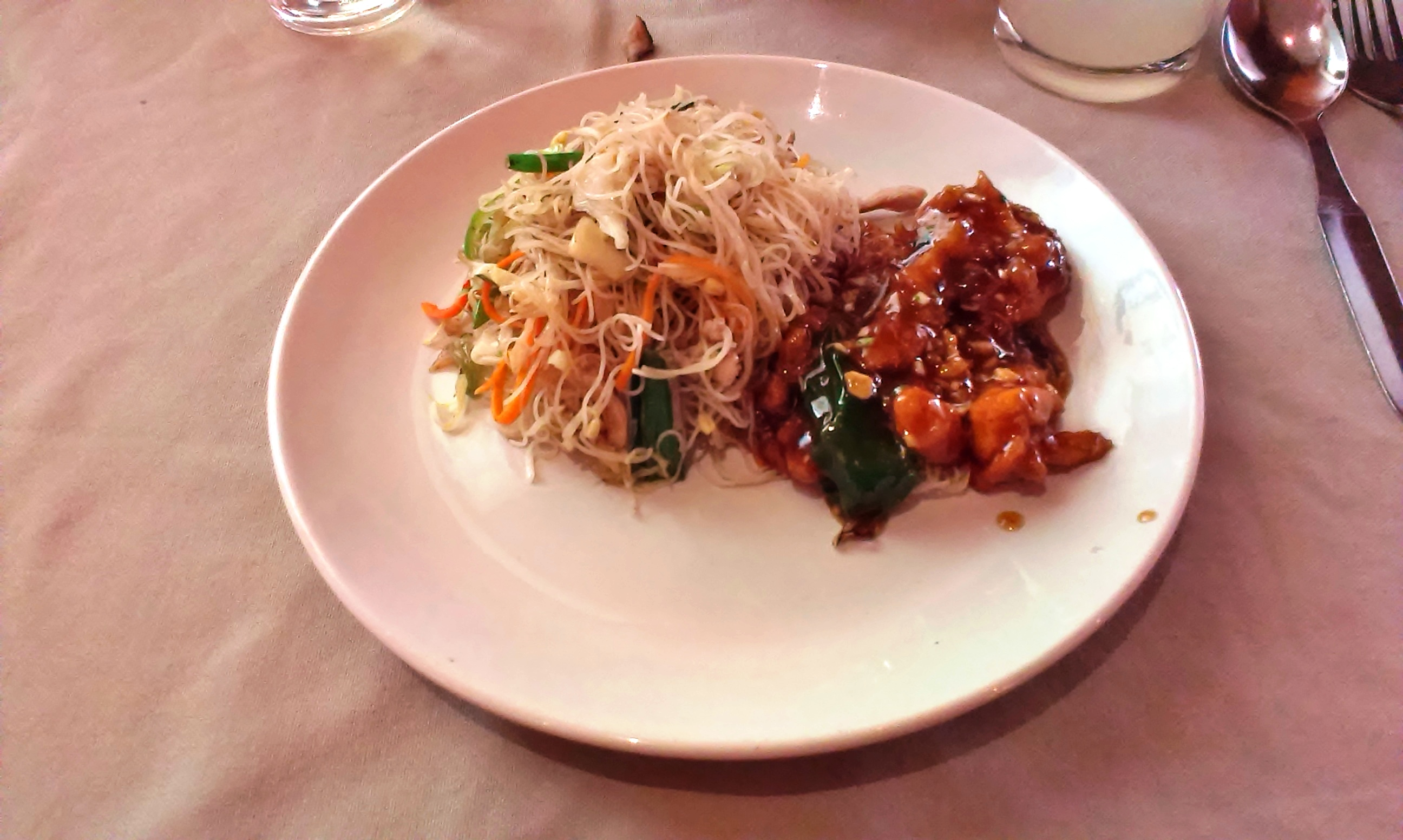 Rice Noodles and Chicken Supreme