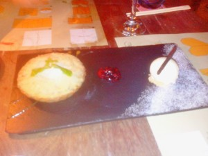 Nashi Pear and Prune Pie