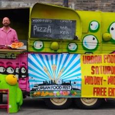 Pizza street food truck van