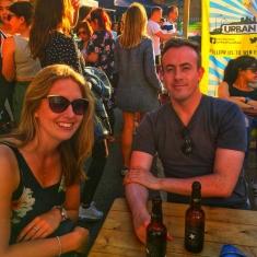 people drinking craft beers London