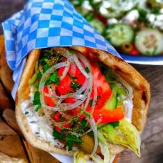 greek vegan souvlaki