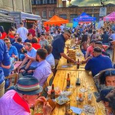 street food Shoreditch market