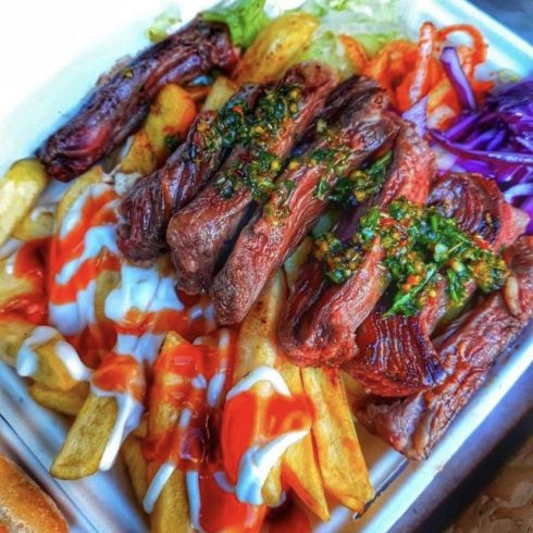 beef & fries