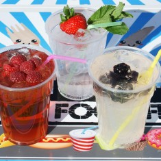 Selection of our summer fruit cocktail recipes