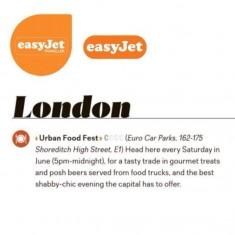 Easy Jet in Flight Magazine
