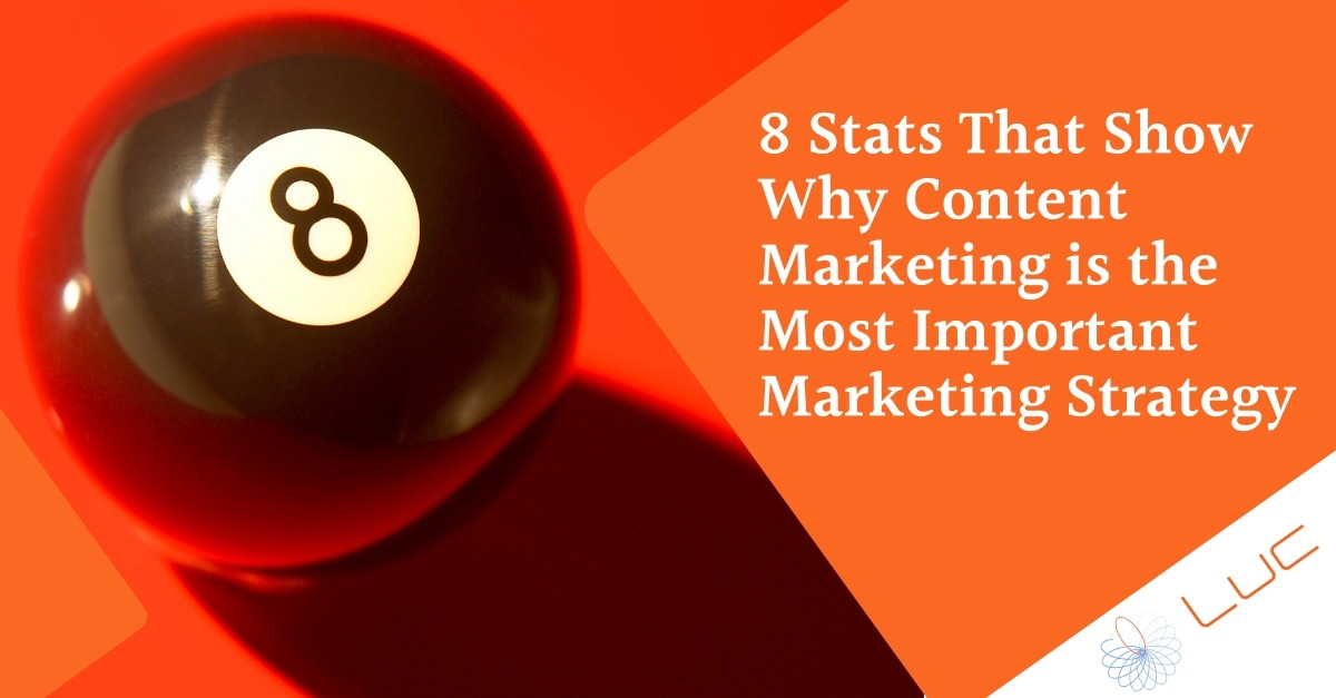 8 Stats That Show Why Content Marketing is the Most Important Marketing Strategy